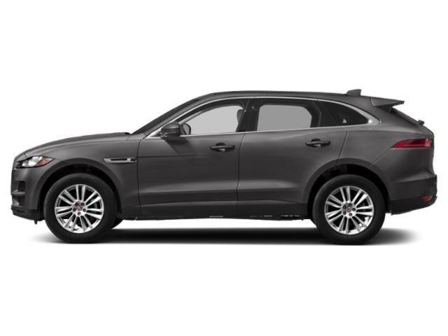 Corris Grey Metallic 2018 Jaguar F-PACE Pictures F-PACE Utility 4D 25t Premium AWD photos side view