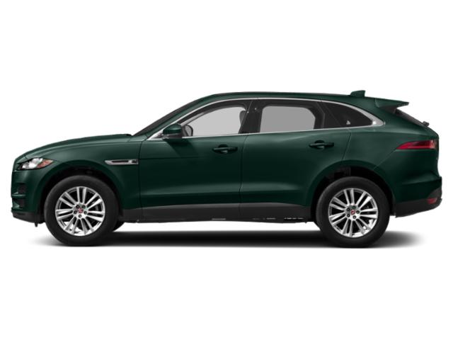 British Racing Green Metallic 2018 Jaguar F-PACE Pictures F-PACE Utility 4D 25t Premium AWD photos side view