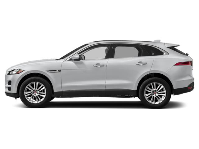 Yulong White Metallic 2018 Jaguar F-PACE Pictures F-PACE Utility 4D 25t Premium AWD photos side view