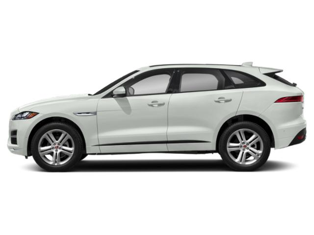 Fuji White 2018 Jaguar F-PACE Pictures F-PACE Utility 4D 25t R-Sport AWD photos side view