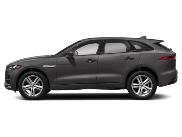 Corris Grey Metallic 2018 Jaguar F-PACE Pictures F-PACE 25t R-Sport AWD photos side view