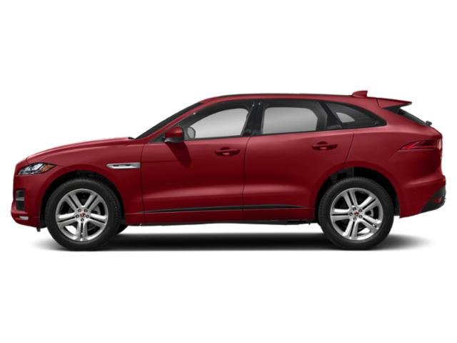 Firenze Red Metallic 2018 Jaguar F-PACE Pictures F-PACE Utility 4D 25t R-Sport AWD photos side view