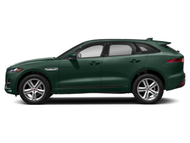 British Racing Green Metallic 2018 Jaguar F-PACE Pictures F-PACE 25t R-Sport AWD photos side view