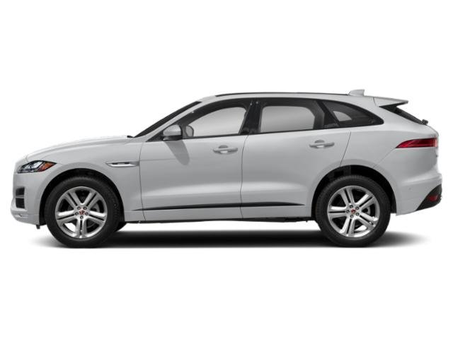 Yulong White Metallic 2018 Jaguar F-PACE Pictures F-PACE Utility 4D 25t R-Sport AWD photos side view
