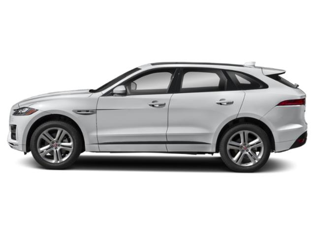 Yulong White Metallic 2018 Jaguar F-PACE Pictures F-PACE 35t R-Sport AWD photos side view