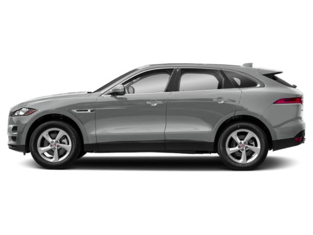 Indus Silver Metallic 2018 Jaguar F-PACE Pictures F-PACE 30t Prestige AWD photos side view