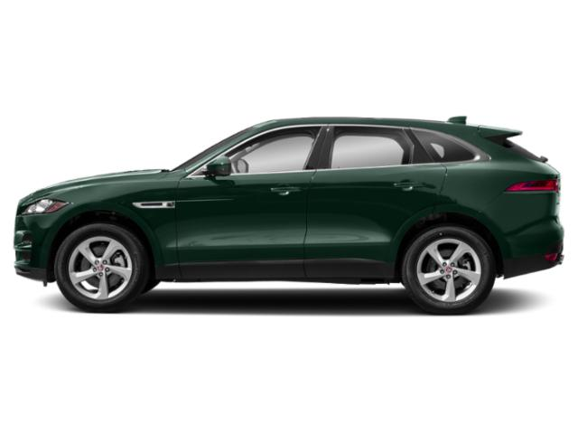 British Racing Green Metallic 2018 Jaguar F-PACE Pictures F-PACE 35t Prestige AWD photos side view