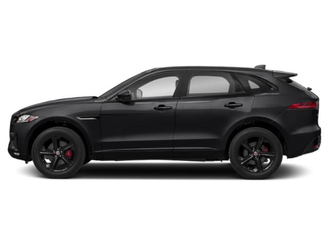 Narvik Black 2018 Jaguar F-PACE Pictures F-PACE S AWD photos side view
