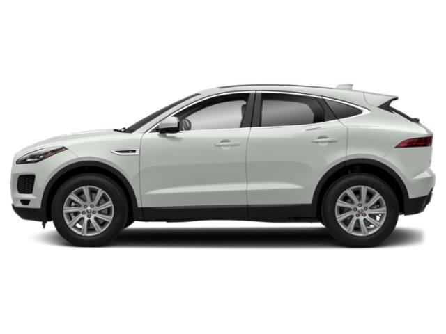 Fuji White 2018 Jaguar E-PACE Pictures E-PACE P300 AWD R-Dynamic SE photos side view