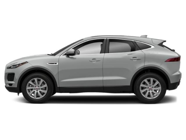 Indus Silver Metallic 2018 Jaguar E-PACE Pictures E-PACE P300 AWD R-Dynamic SE photos side view