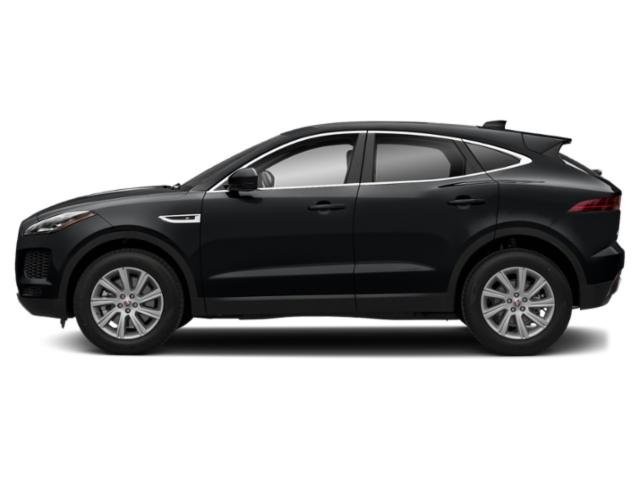 Santorini Black Metallic 2018 Jaguar E-PACE Pictures E-PACE P300 AWD R-Dynamic S photos side view