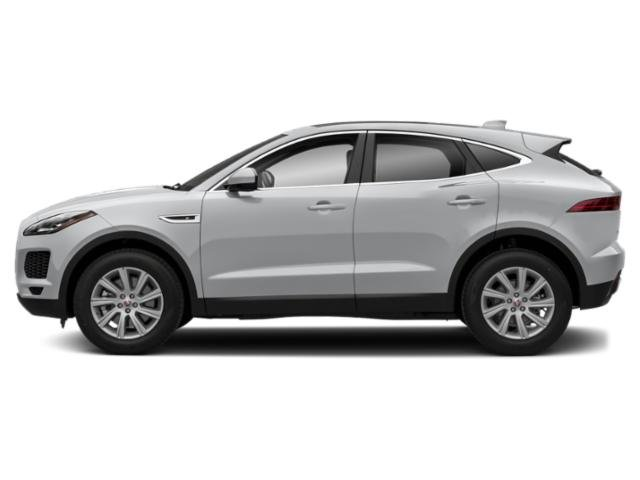 Yulong White Metallic 2018 Jaguar E-PACE Pictures E-PACE Utility 4D AWD photos side view