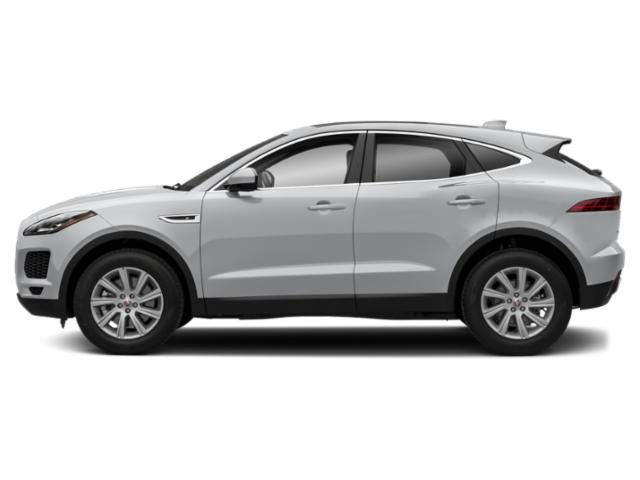 Yulong White Metallic 2018 Jaguar E-PACE Pictures E-PACE P300 AWD R-Dynamic S photos side view
