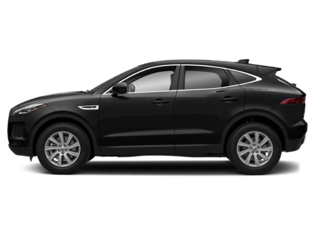 Farallon Black Premium Metallic 2018 Jaguar E-PACE Pictures E-PACE P300 AWD R-Dynamic SE photos side view