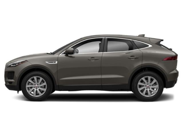 Borasco Grey Metallic 2018 Jaguar E-PACE Pictures E-PACE P300 AWD R-Dynamic SE photos side view