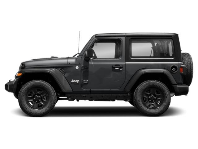 Sting-Gray Clearcoat 2018 Jeep Wrangler Pictures Wrangler Utility 2D Rubicon 4WD V6 photos side view