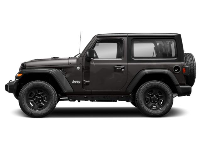 Granite Crystal Metallic Clearcoat 2018 Jeep Wrangler Pictures Wrangler Sport 4x4 photos side view