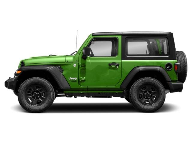 Mojito! Clearcoat 2018 Jeep Wrangler Pictures Wrangler Sport 4x4 photos side view