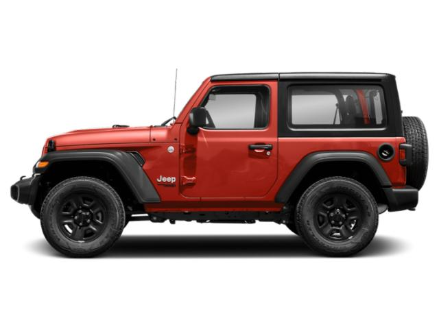 Firecracker Red Clearcoat 2018 Jeep Wrangler Pictures Wrangler Utility 2D Rubicon 4WD V6 photos side view