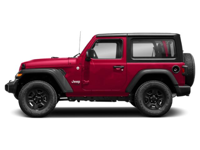 Firecracker Red Clearcoat 2018 Jeep Wrangler Pictures Wrangler Sport 4x4 photos side view