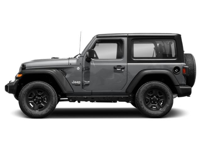 Billet Silver Metallic Clearcoat 2018 Jeep Wrangler Pictures Wrangler Utility 2D Rubicon 4WD V6 photos side view