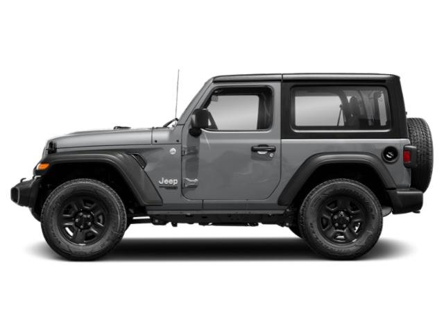 Billet Silver Metallic Clearcoat 2018 Jeep Wrangler Pictures Wrangler Rubicon 4x4 photos side view