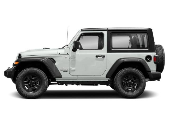 Bright White Clearcoat 2018 Jeep Wrangler Pictures Wrangler Sport 4x4 photos side view