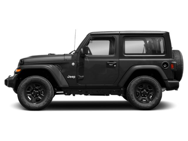 Black Clearcoat 2018 Jeep Wrangler Pictures Wrangler Utility 2D Rubicon 4WD V6 photos side view