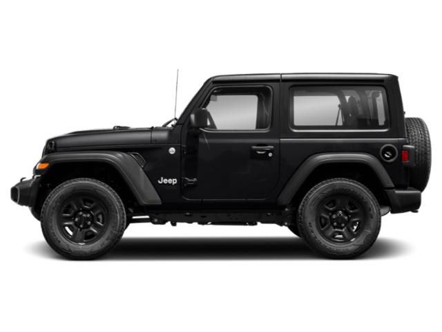 Black Clearcoat 2018 Jeep Wrangler Pictures Wrangler Sport 4x4 photos side view