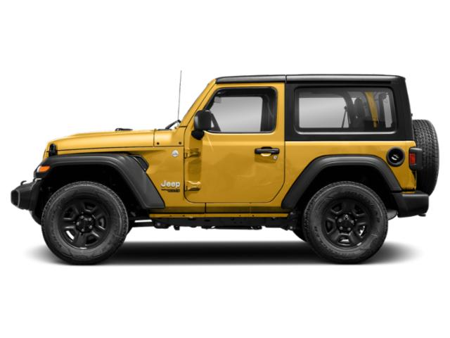 Hellayella Clearcoat 2018 Jeep Wrangler Pictures Wrangler Utility 2D Rubicon 4WD V6 photos side view