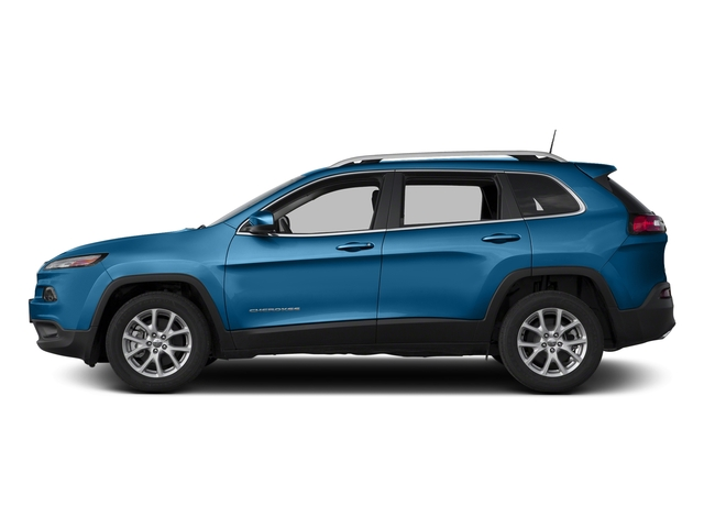 Hydro Blue Pearlcoat 2018 Jeep Cherokee Pictures Cherokee Utility 4D Latitude 4WD photos side view