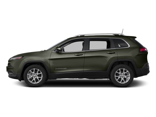 Olive Green Pearlcoat 2018 Jeep Cherokee Pictures Cherokee Utility 4D Latitude Plus 4WD photos side view