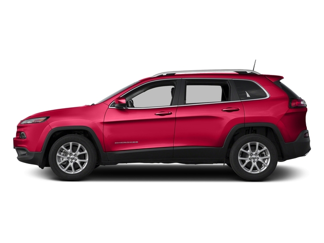 Firecracker Red Clearcoat 2018 Jeep Cherokee Pictures Cherokee Latitude FWD photos side view