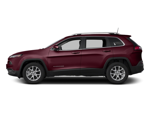 Velvet Red Pearlcoat 2018 Jeep Cherokee Pictures Cherokee Latitude Tech Connect FWD photos side view