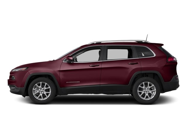 Velvet Red Pearlcoat 2018 Jeep Cherokee Pictures Cherokee Utility 4D Latitude Plus 4WD photos side view