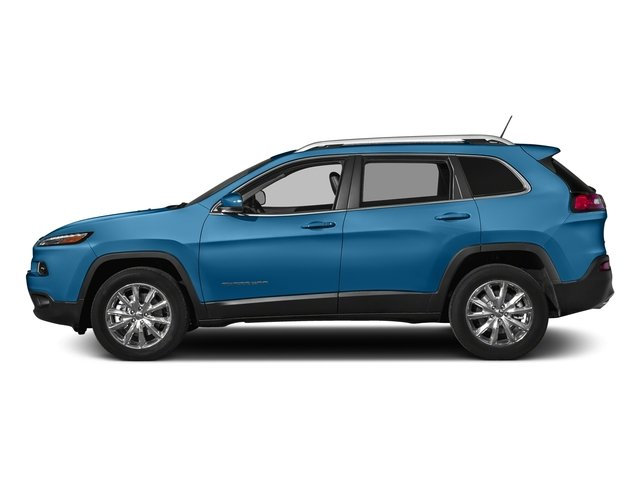 Hydro Blue Pearlcoat 2018 Jeep Cherokee Pictures Cherokee Limited FWD photos side view