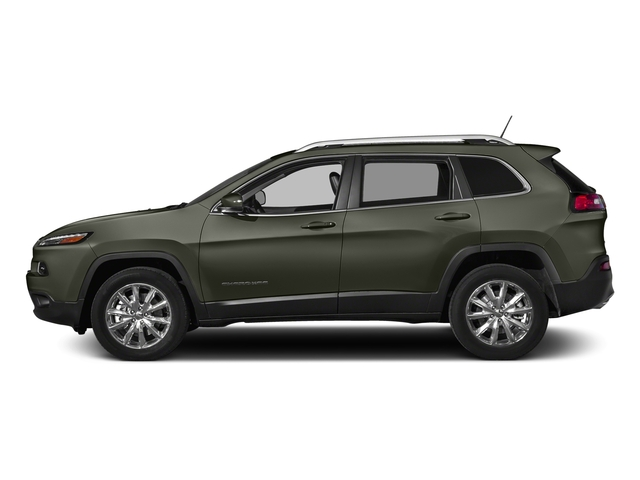 Olive Green Pearlcoat 2018 Jeep Cherokee Pictures Cherokee Limited FWD photos side view