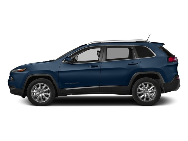 Patriot Blue Pearlcoat 2018 Jeep Cherokee Pictures Cherokee Limited FWD photos side view