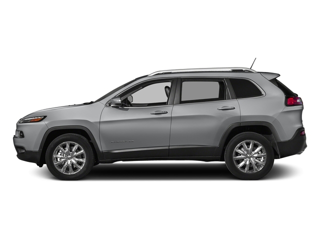 Billet Silver Metallic Clearcoat 2018 Jeep Cherokee Pictures Cherokee Utility 4D Limited 2WD photos side view