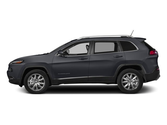 Rhino Clearcoat 2018 Jeep Cherokee Pictures Cherokee Utility 4D Limited 2WD photos side view