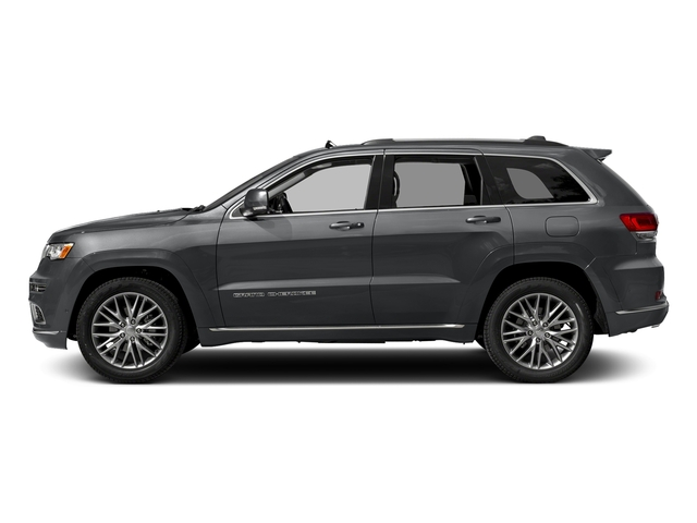 Granite Crystal Metallic Clearcoat 2018 Jeep Grand Cherokee Pictures Grand Cherokee Summit 4x2 photos side view