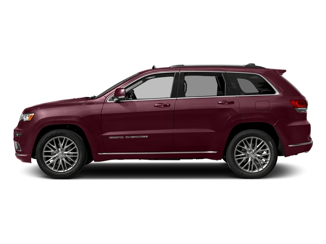 Velvet Red Pearlcoat 2018 Jeep Grand Cherokee Pictures Grand Cherokee Summit 4x2 photos side view
