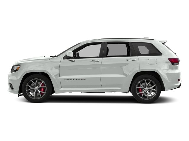 Bright White Clearcoat 2018 Jeep Grand Cherokee Pictures Grand Cherokee Utility 4D SRT-8 4WD photos side view