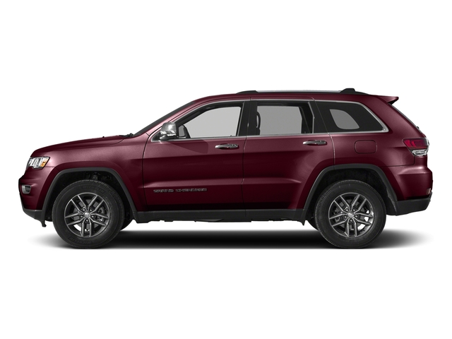 Velvet Red Pearlcoat 2018 Jeep Grand Cherokee Pictures Grand Cherokee Limited 4x4 photos side view