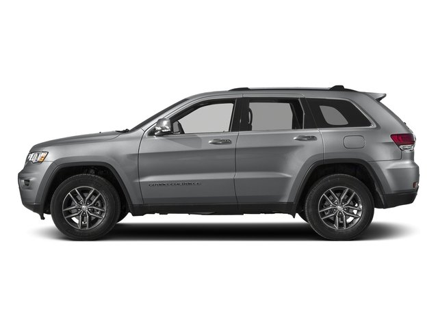 Billet Silver Metallic Clearcoat 2018 Jeep Grand Cherokee Pictures Grand Cherokee Limited 4x4 photos side view