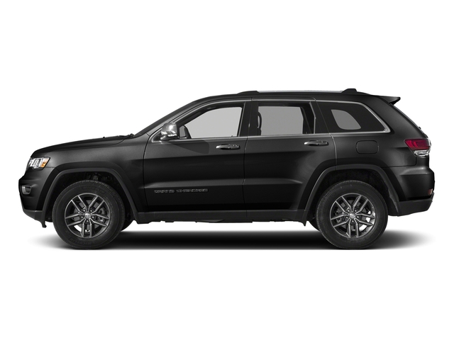 Diamond Black Crystal Pearlcoat 2018 Jeep Grand Cherokee Pictures Grand Cherokee Limited 4x4 photos side view