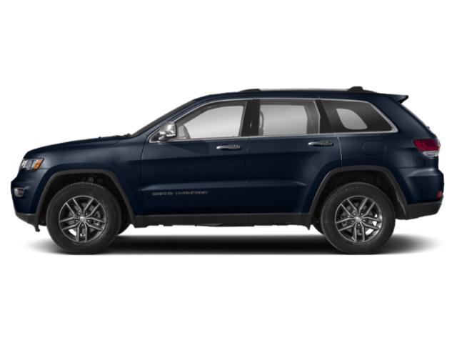 True Blue Pearlcoat 2018 Jeep Grand Cherokee Pictures Grand Cherokee Overland 4x2 photos side view