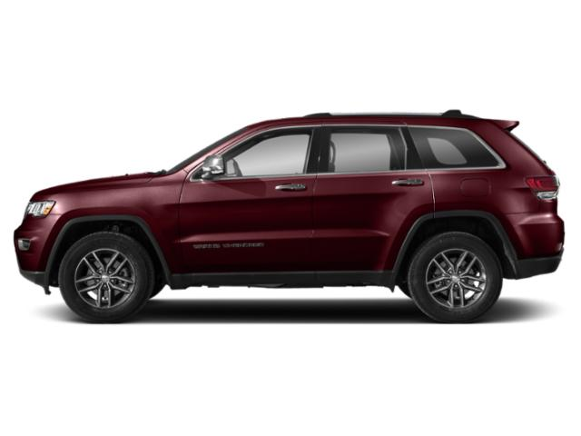 Velvet Red Pearlcoat 2018 Jeep Grand Cherokee Pictures Grand Cherokee Overland 4x2 photos side view