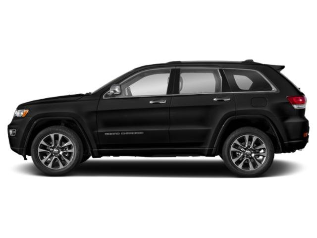 Diamond Black Crystal Pearlcoat 2018 Jeep Grand Cherokee Pictures Grand Cherokee Overland 4x2 photos side view