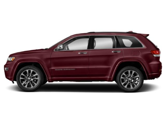 Velvet Red Pearlcoat 2018 Jeep Grand Cherokee Pictures Grand Cherokee Utility 4D Overland 2WD T-Dsl photos side view